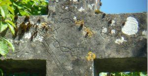 Croix du Monthoux - Détail du croisillon - réduite