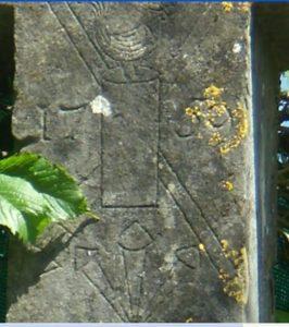 Croix du Monthoux - détails du fût - réduite
