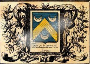 Blaon famille Richard la Barollière
