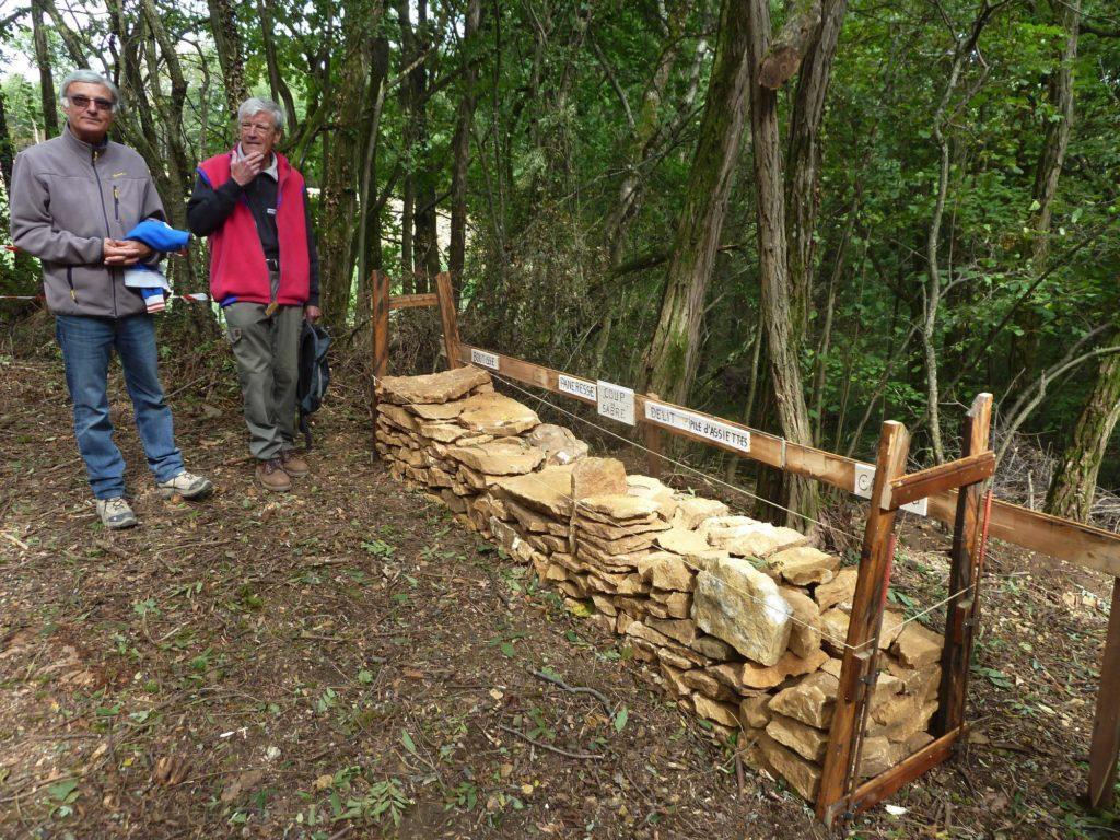 Comment disposer des pierres pour construire un mur